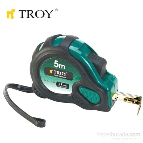 Troy 23124 Stoperli Şerit Metre (3Mx16mm)
