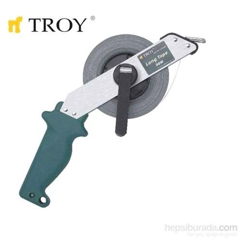 Troy 23152 İskandil Çelik Metre (20M, 13×0.18Mm)