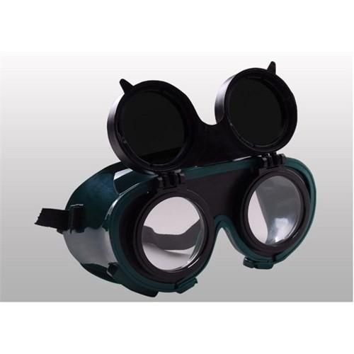 Viola Valente Koruyucu Gözlük Çift Maksatlı Şeffaf Siyah
