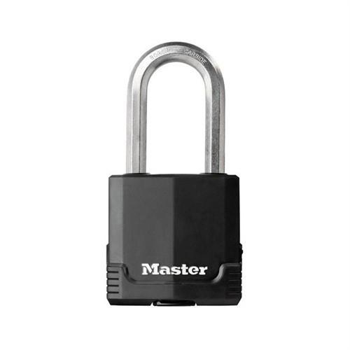Master Lock M515 Termoplastik Kılıflı Boron Çelik Kilit 64Mm