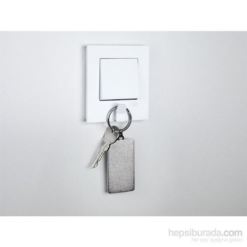 Günsan Eqona Pratik Beyaz Anahtarlık Anahtar