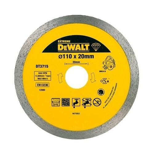 Dewalt Dt3715 Porselen, Mermer Ve Granit Bıçağı 110X20mm