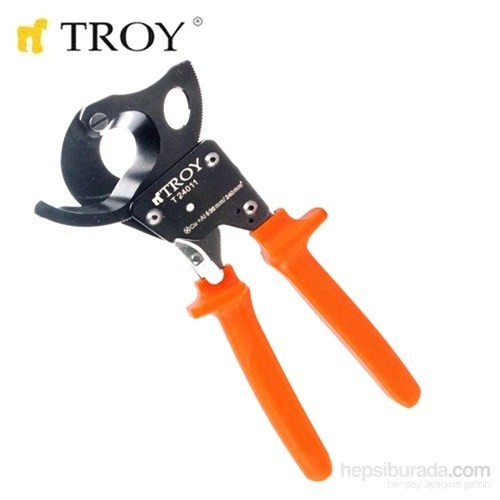 Troy 24011 İzoleli Kablo Kesme Makası