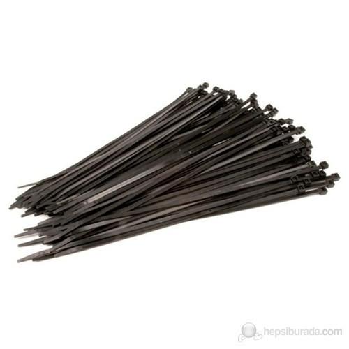 Tork Klamps 150 X 3.6 Mm Kablo Bağı-Cırt (100'Lü Paket) Siyah