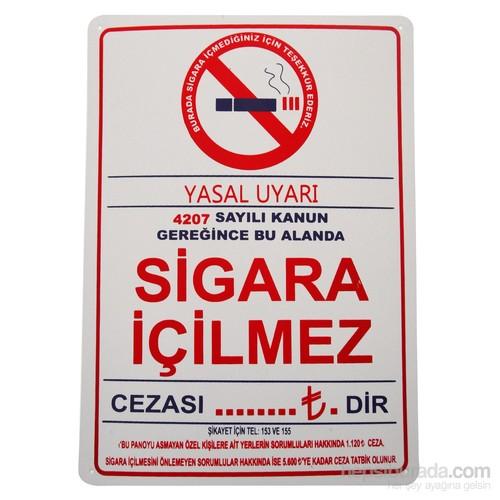 Sigara İçmek Yasaktır (Kod 412) 25X35 Cm