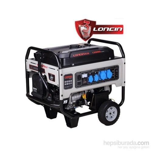 Loncin LC13000-3 Benzinli Trifaze Jeneratör 12 kVA