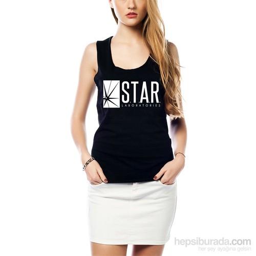 Köstebek Star Labs Kadın Tişört