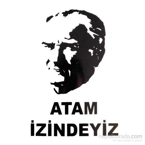 "İzmir Serigrafistıcker ""Atam İzindeyiz"""