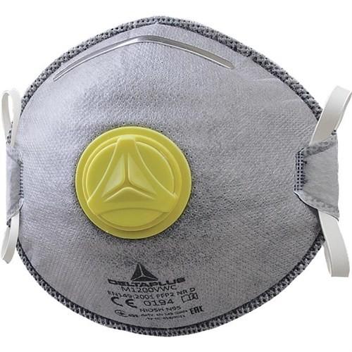 Delta Plus Toz Maskesi Konik Ventilli Aktif Karbon M1200vw 5 Adet