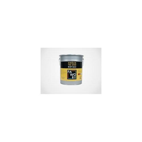 Fawori Soğuk Yol Çizgi Boyası 25Kg Beyaz