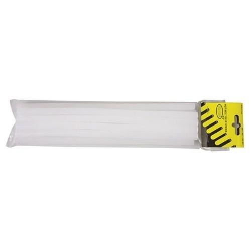 """Elit Yapıştırıcı Çubuk 1/2"""" 30 cm Şeffaf 10 Adet Mum Silikon"""
