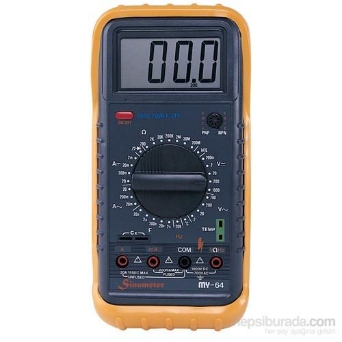 Mastech My-64 Dijital Multimetre