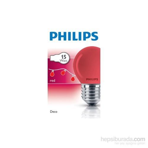 Philips Party 15W E27 220-240V P45 Bl 1Ct/10X10f