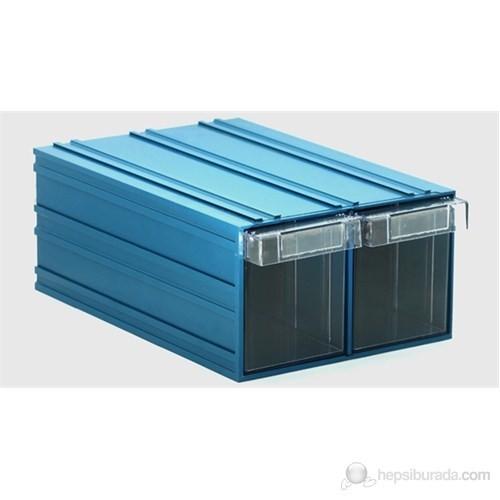 Sançelik 501-2 Plastik Çekmeceli Kutu (9 Adet)