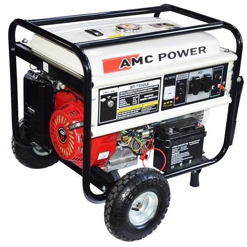 Amc Power Bt-7500 Le 6,5 Kva Benzinli Jeneratör Marşlı (Tekerlekli)