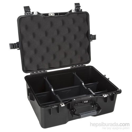 Mano Mtc 360Pl Siyah - Yumurta Sünger + Plastik Bölmeli Tough Case Pro Takım Çantası