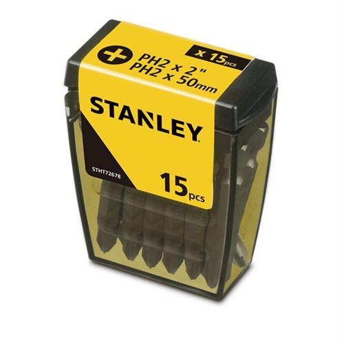 Stanley Stht726788l 15 Adet Ph2 Vidalama Uç Seti