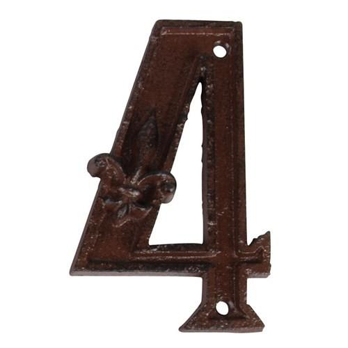 House2Home Antik Döküm Koleksiyon - Kapı Numarası - 4
