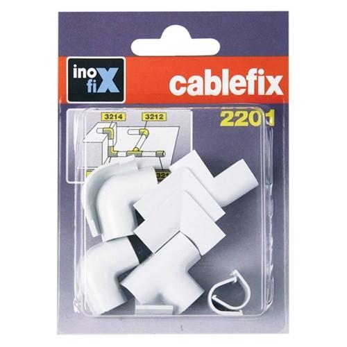 Inofix Kablo Sabitleme Aparatı Beyaz
