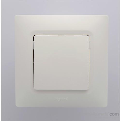 Legrand Salbei Liht Butonu, Beyaz