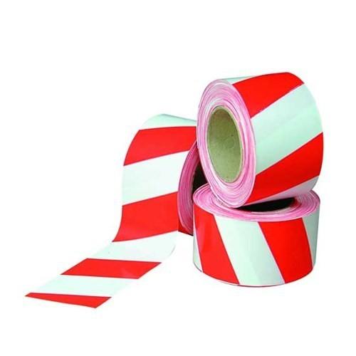 Kırmızı Beyaz İkaz Bandı 500 Metre