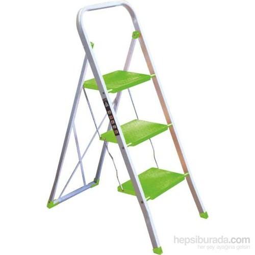 Hiper 3 Basamaklı Merdiven Yeşil 2958