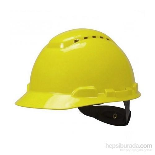 3M H700 Enseden Ayarlı Vidalı UV'li Sarı Baret (20 Adet)