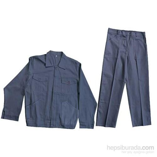 Tuğbasan-Siyah-Standart Mont-Pantolon Takım-46 Beden