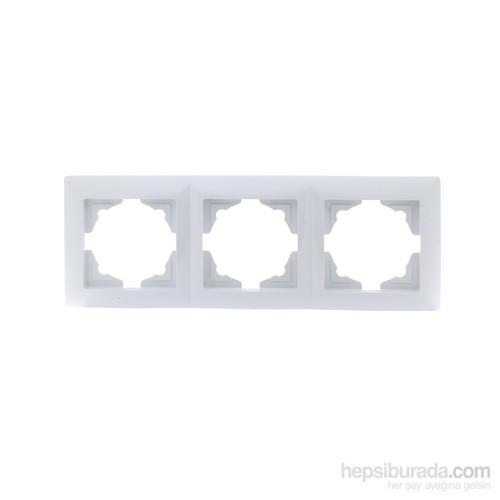 Günsan Visage Beyaz 3 Li Çerçeve