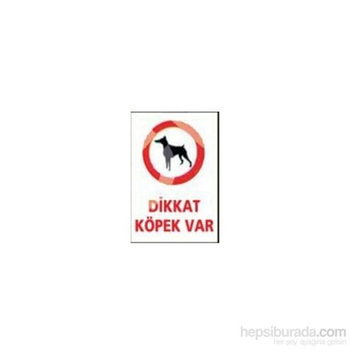 """Lorex """"Dikkat Köpek Var"""" İş Güvenlik Levhası"""