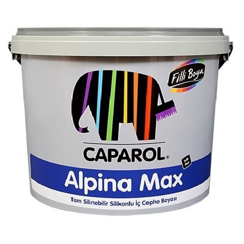 Fiili Boya Alpina Max Silikonlu Mat İç Cephe Duvar Boyası 2.5Lt Açık Mavi