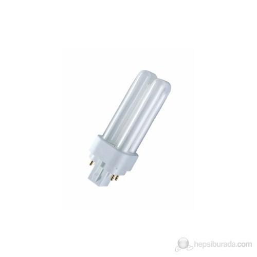 Osram Dulux D/E 18W Sarı Işık Geçme Soketli Lamba - 4Pın - Dd/E.18/41-827