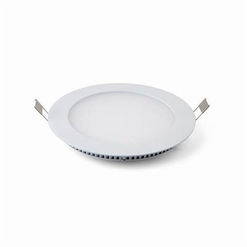 Lamptıme Armatür Lamptıme Panel Led Downlıght İnce 6W 4000K Ilık Beyaz 260422 (107-120)