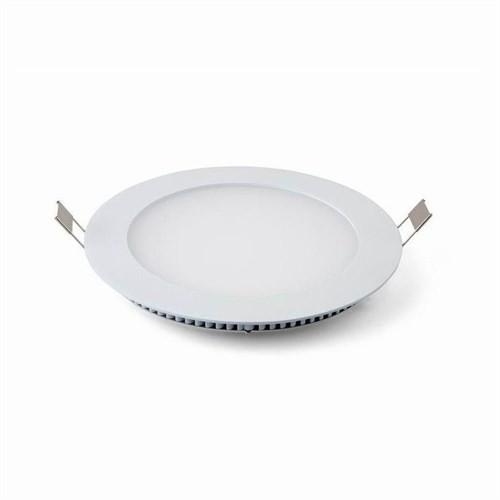 Lamptıme Armatür Lamptıme Panel Led Downlıght İnce 12W 4000K Ilık Beyaz 260423 (130-145)