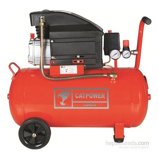CatPower 1150 Kompresör, 2 Hp, 50 Lt, 8 Bar