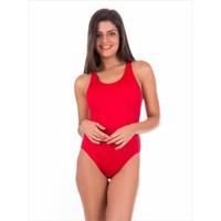 Ayyıldız Ff0026 K Kırmızı Bayan Yüzücü Mayosu Kırmızı
