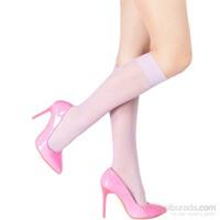 Pierre Cardin Desenli Dizaltı Çorap Royale Lila
