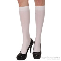 Pierre Cardin Mikro 40 Mat Dizaltı Çorap Risus Beyaz