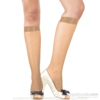 Pierre Cardin Desenli Dizaltı Çorap Dorine Ten