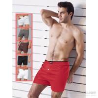 Miorre Cotton Boxer Erkek Kırmızı