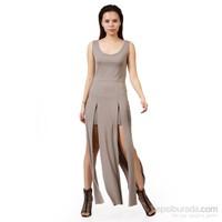 Demoda Parçalı Elbise