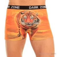 Darkzone 3D Boxer Turuncu Kaplan