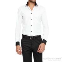 Efor Spor Yakalı Klasik Stil Erkek Gömlek