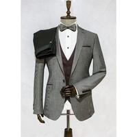 Victor Baron Yeni Sezon Yelekli Consept Takım Elbise