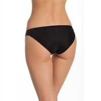 Tutku 3'Lü Paket Kadın Bikini Külot Siyah