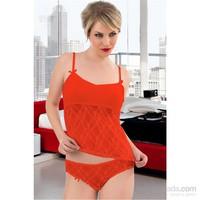 Intimo Bayan Streç Dantelli Body/Bikini 2' Li Takım
