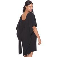 Melisita Marsha Büyük Beden Siyah Elbise