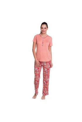Çift Kaplan 7847 Bayan Pijama Takım