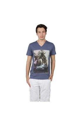 Colin's Mavi Erkek Tshirt Kısa Kol