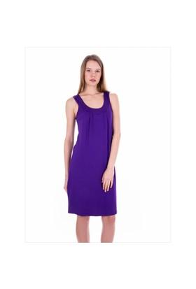 Ayyıldız 59431 Mor Penye Elbise